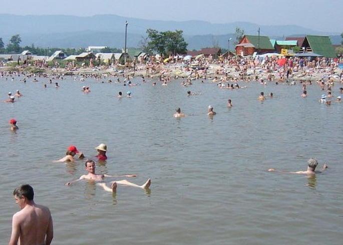 Мертвое море Солотвино