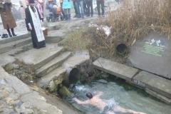 Крещенские купания в Богоявленском роднике