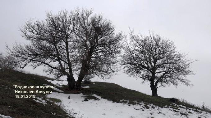 Ингульские холмы у родника