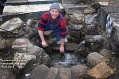 Очистка воды в роднике