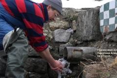 Святая вода из Аляудского родника
